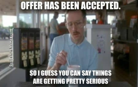 Screenshot of Offer Accepted Meme
