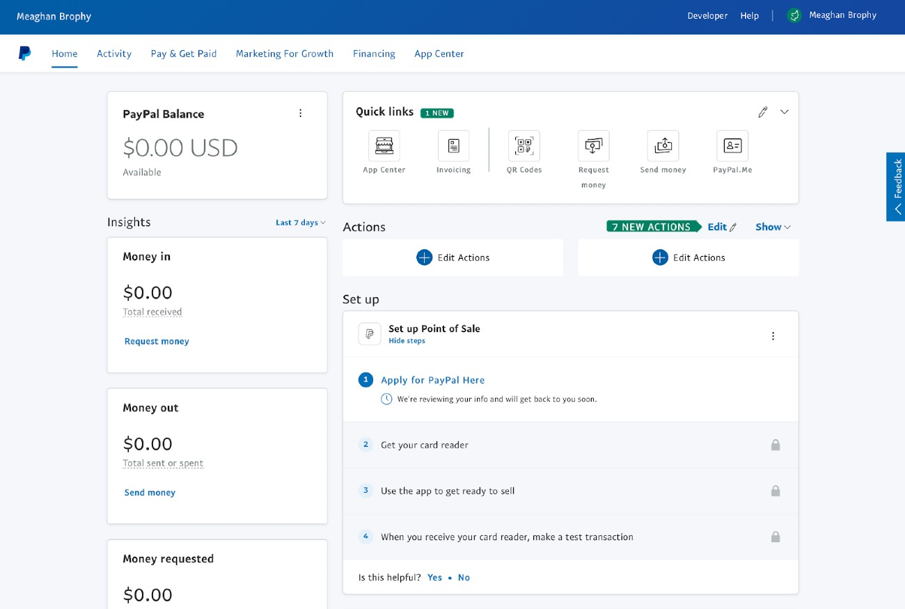 Screenshot of Setting Up PayPal Recurring Invoices