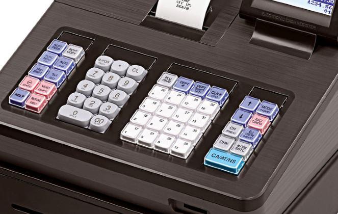 Screenshot of Sharp XE-A207 Features 99 Pre-programmed Departments