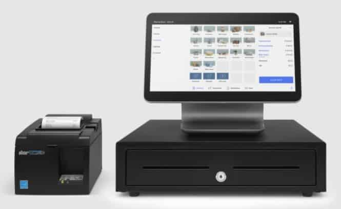 Screenshot of Square Hardware Kit
