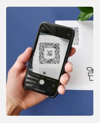 Screenshot of Square QR Code