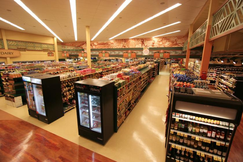 Grocery Store Grid Layout