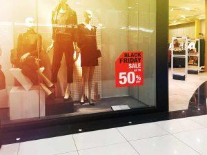 Store Window Display Sale