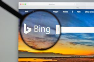 bing for business search box