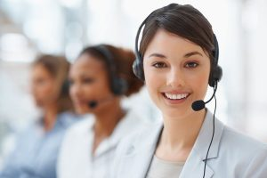 female call center agents