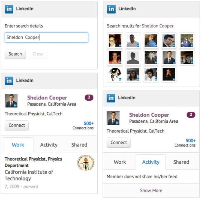 Agile CRM and LinkedIn Integration