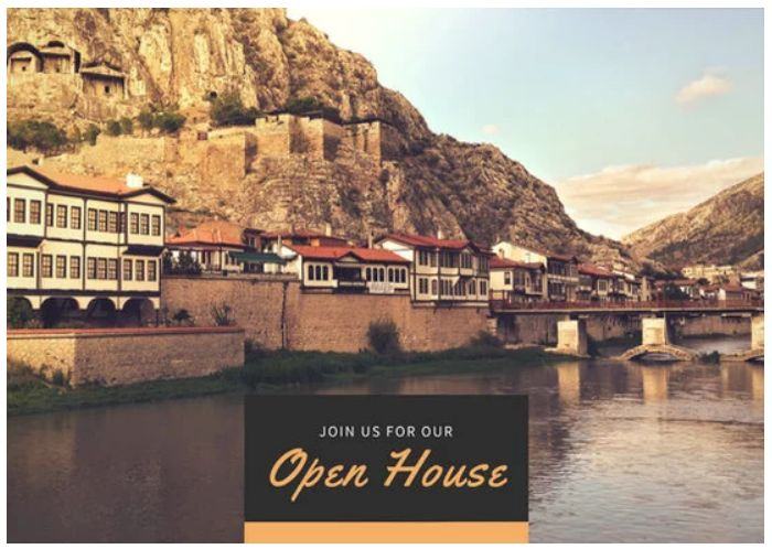 Canva Join Us Open House