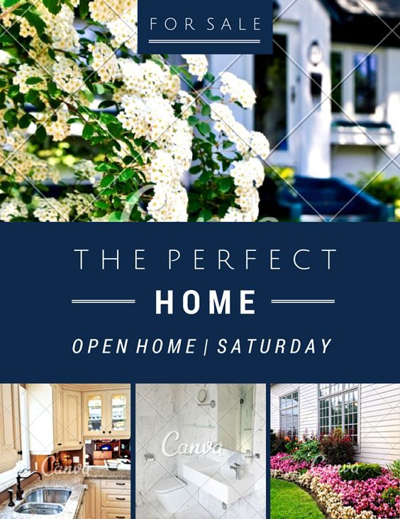 Canva open house invitation template with best images