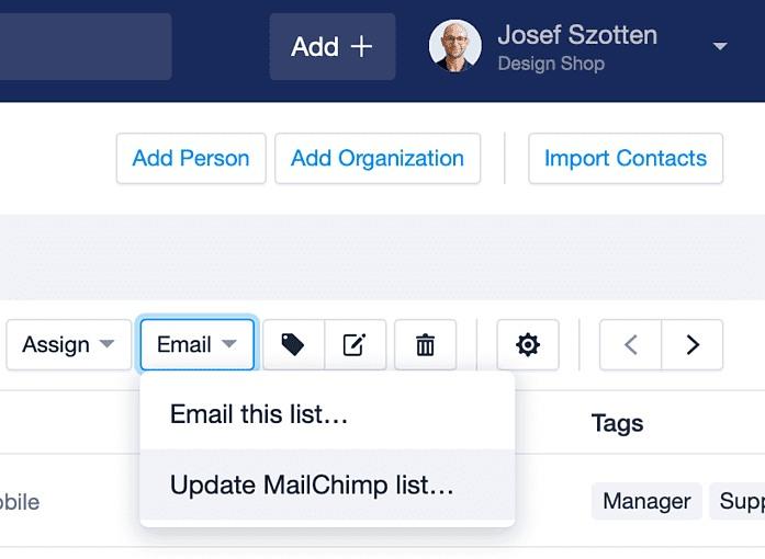 Capsule CRM & Mailchimp Integration