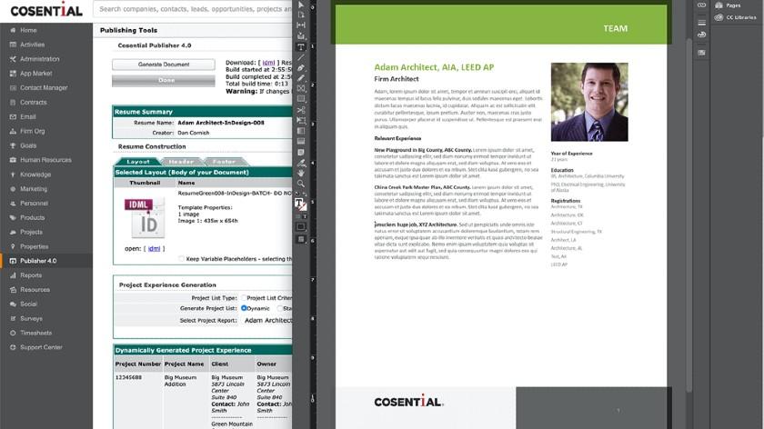 Cosential Publishing tools