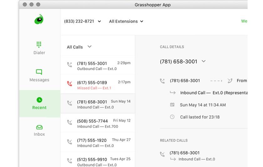 Screenshot of Grasshopper app