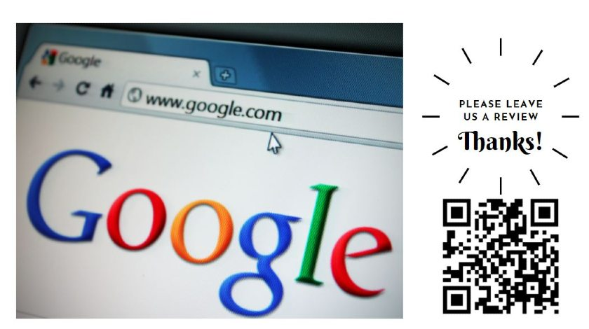 QR Code to review site on business Card