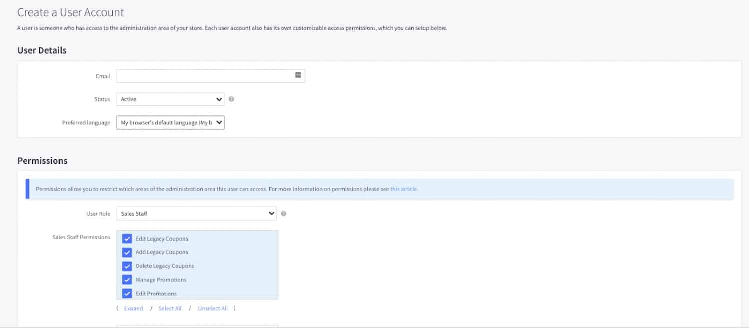 Screenshot of Setting Up Additional Users by Clicking on Account Setting