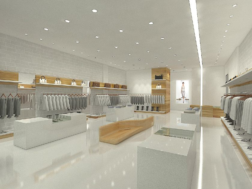A Sleek Store Design