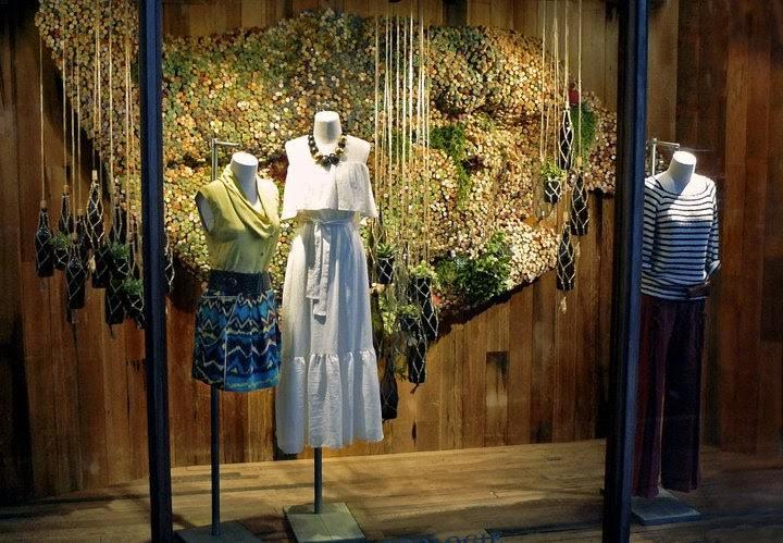 Anthropologie Store Window Display