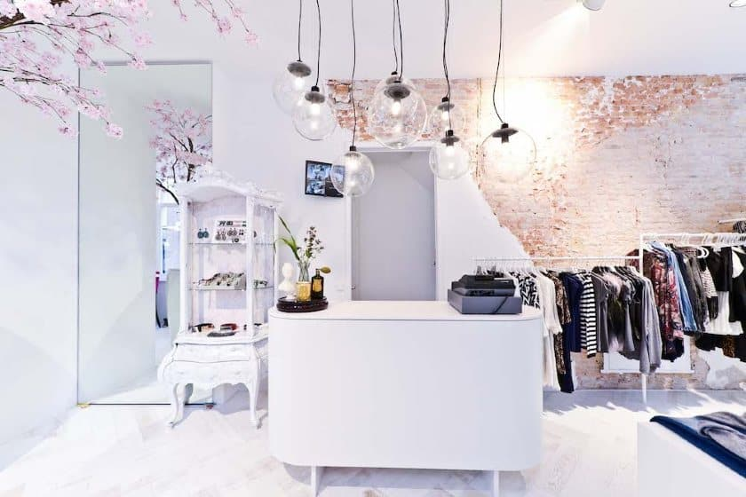 Chic Lights Over the Register