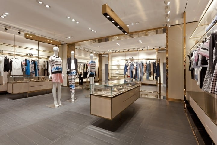 Mannequins and Glass Display Cases Create Focal Points