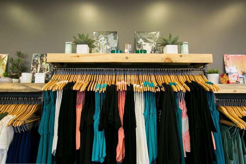 Organized Clothes and Candles