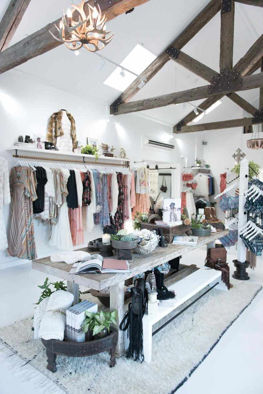 Small Boutique Maximizes Its Space