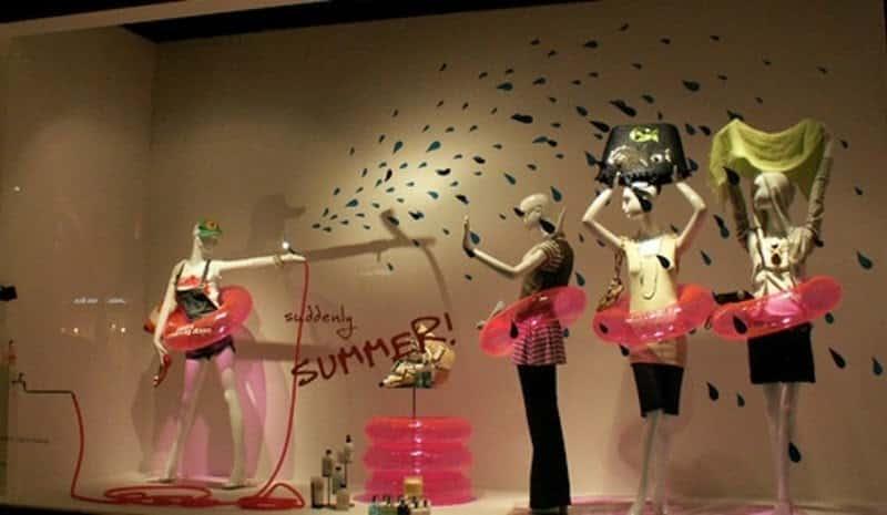 Summer Store Display