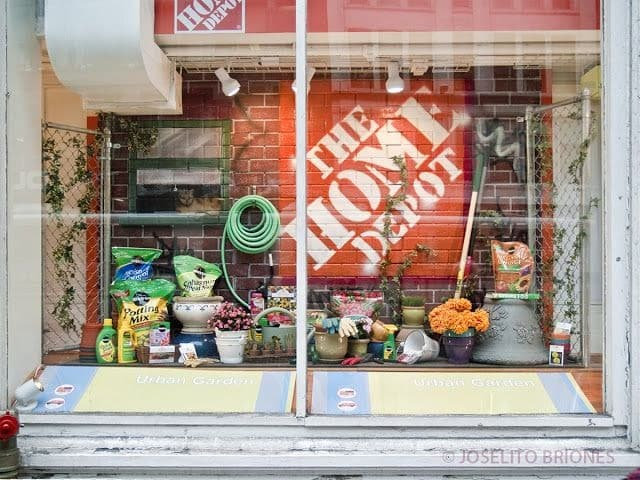 The Home Depot Store Display