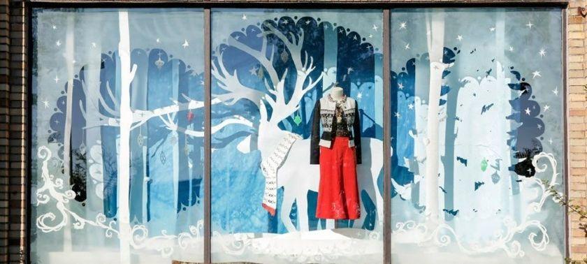 Winter Store Display