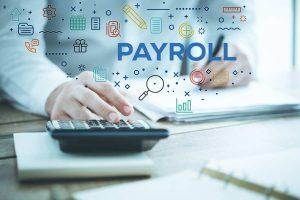Man Working on Payroll
