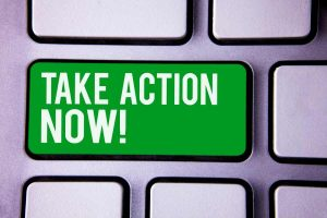 Take Action Now Keyboard button