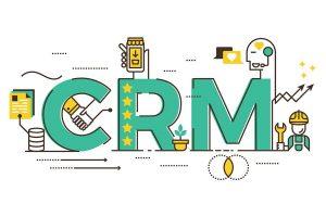 insurance crm concept illustration