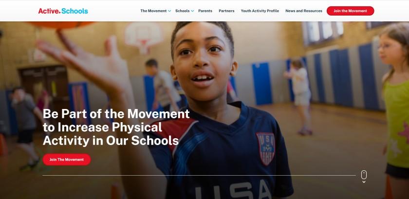 Active Schools Website
