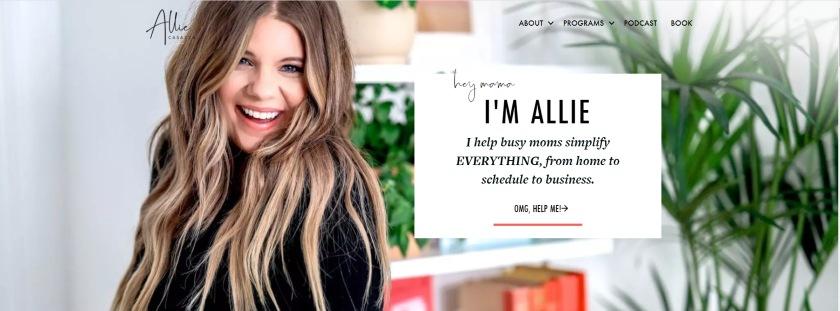 Allie Casazza Website