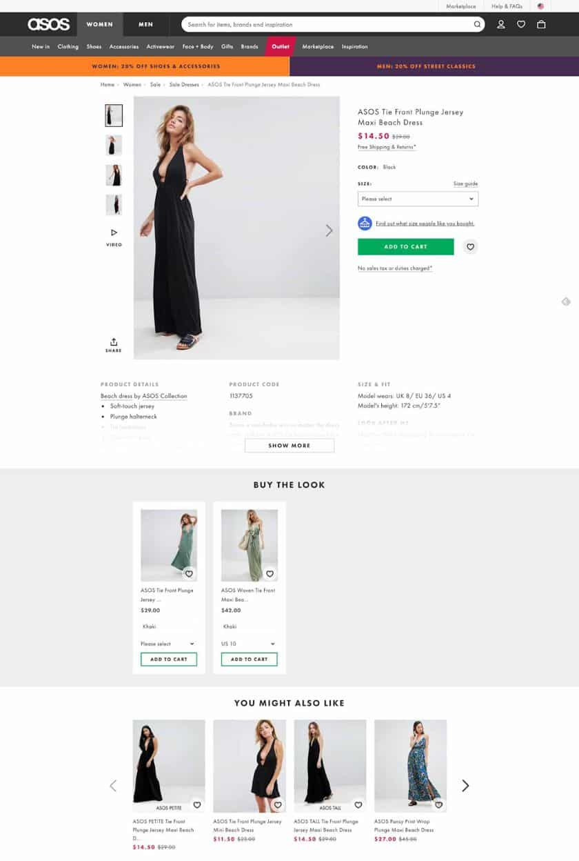 Asos Online Store