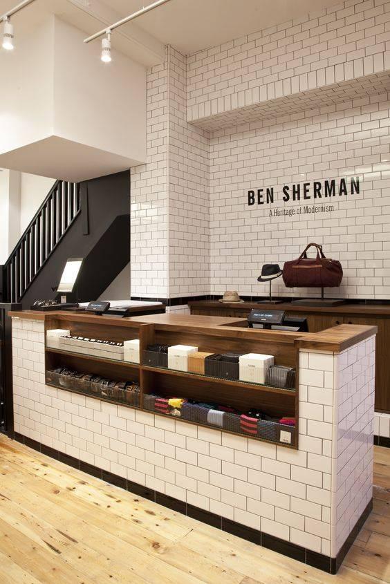 Countertop Display of Ben Sherman