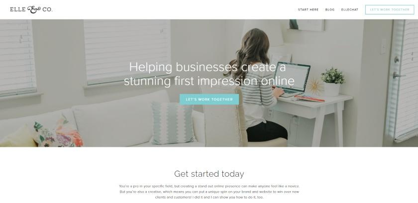 Elle & Company Website