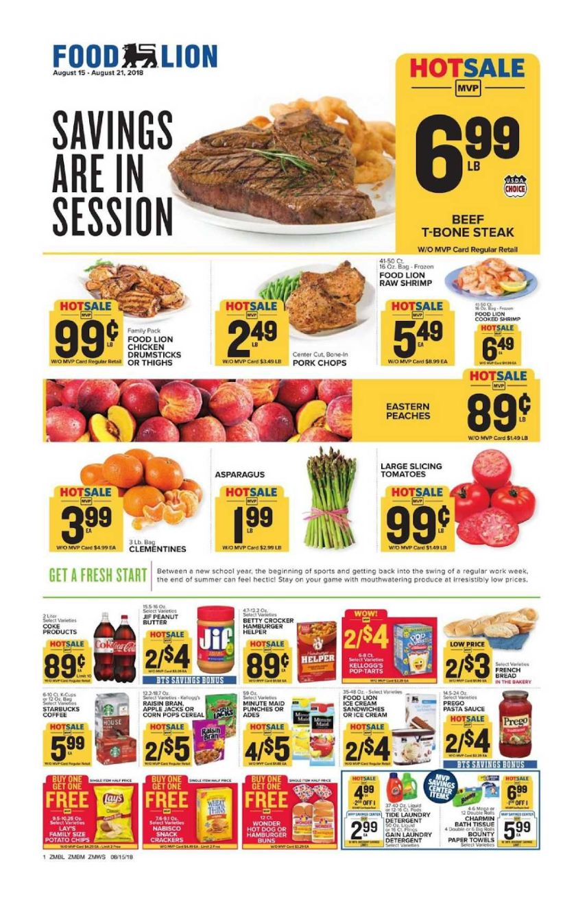 Food Lion Product Pricing