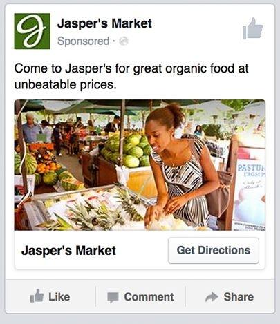 Jasper Market local advertising