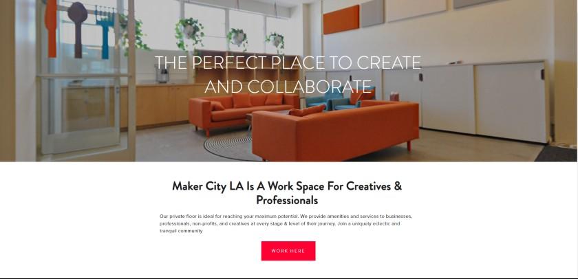 Maker City LA Website