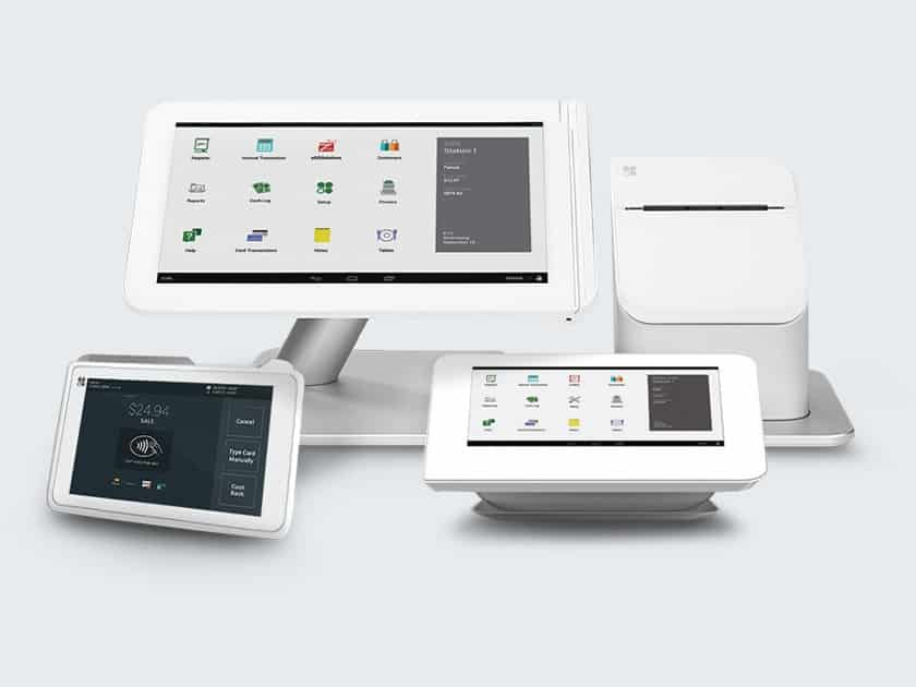 Screenshot of Payline data Clover countertop and mobile POS and hardware solutions