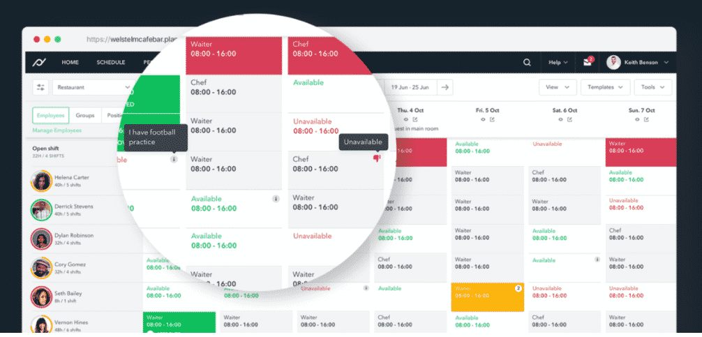 Planday Scheduling Software
