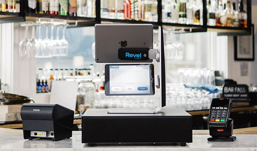 Screenshot of Revel Systems gadgets