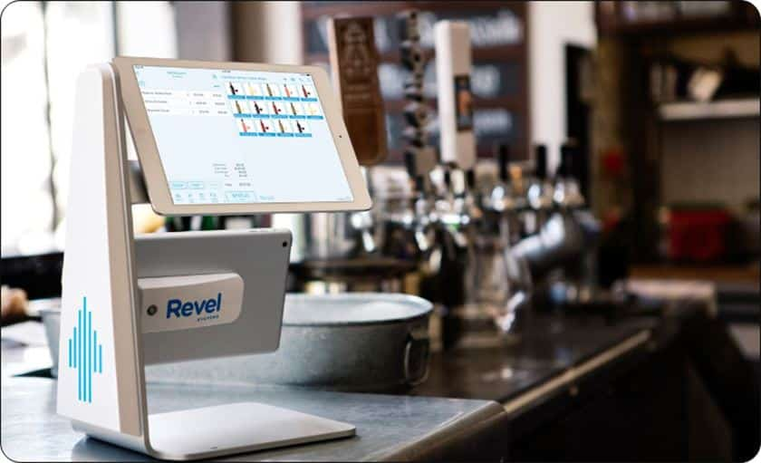 Screenshot of Revel Systems iPad Stand