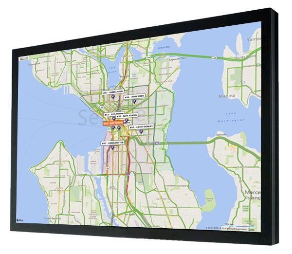 Screenshot of SpeedLine delivery map