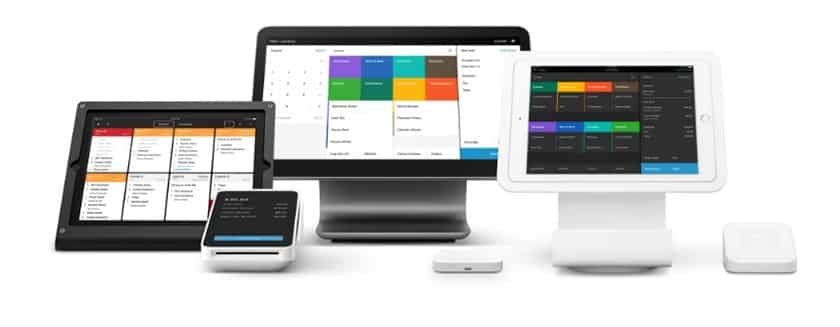 Screenshot of Square for Restaurants Hardwares