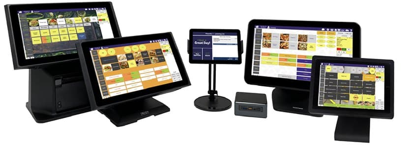 Screenshot of Thrive POS hardware lineup