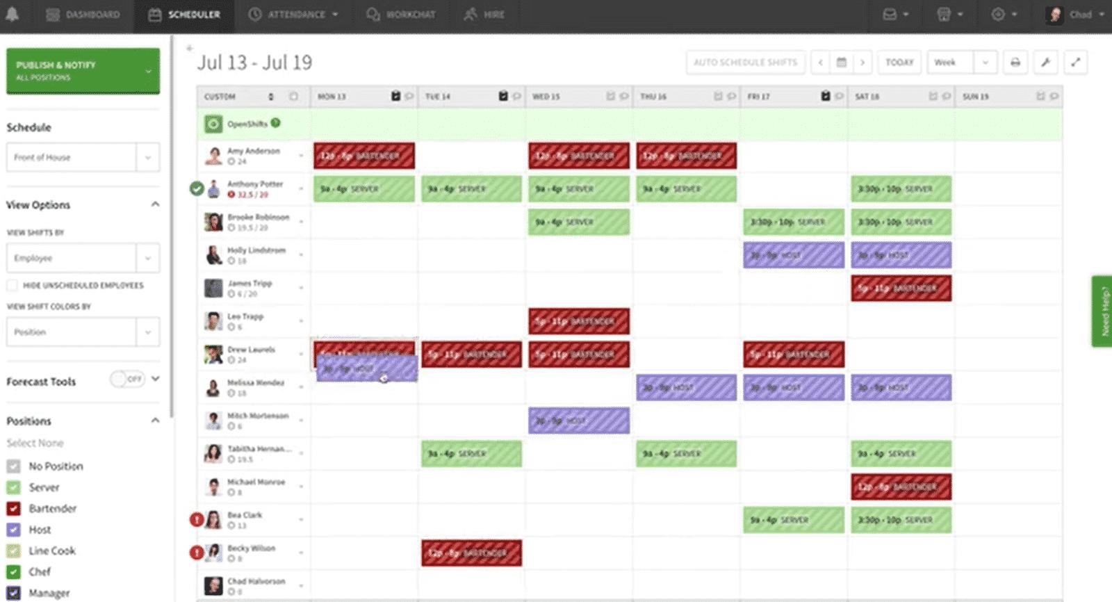 When_I_Work Scheduling Software