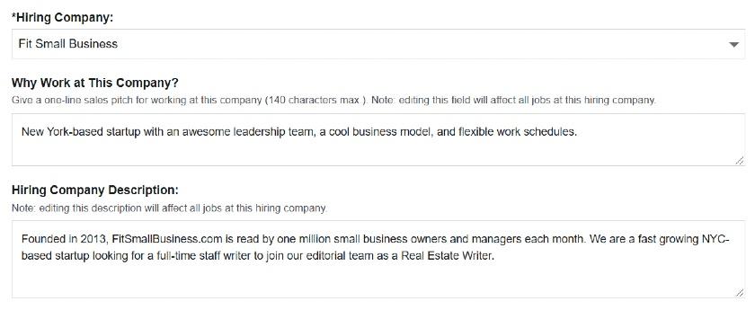 ZipRecruiter hiring company information