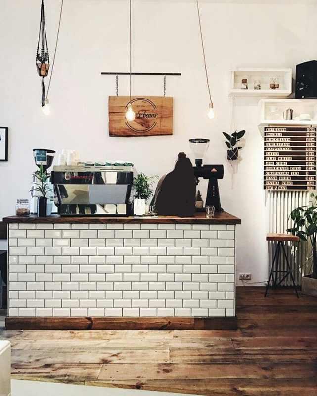 Screenshot of coffee shop casher