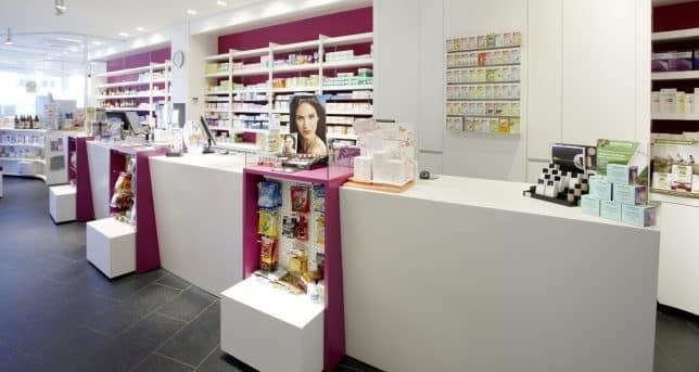 Screenshot of cosmetics store