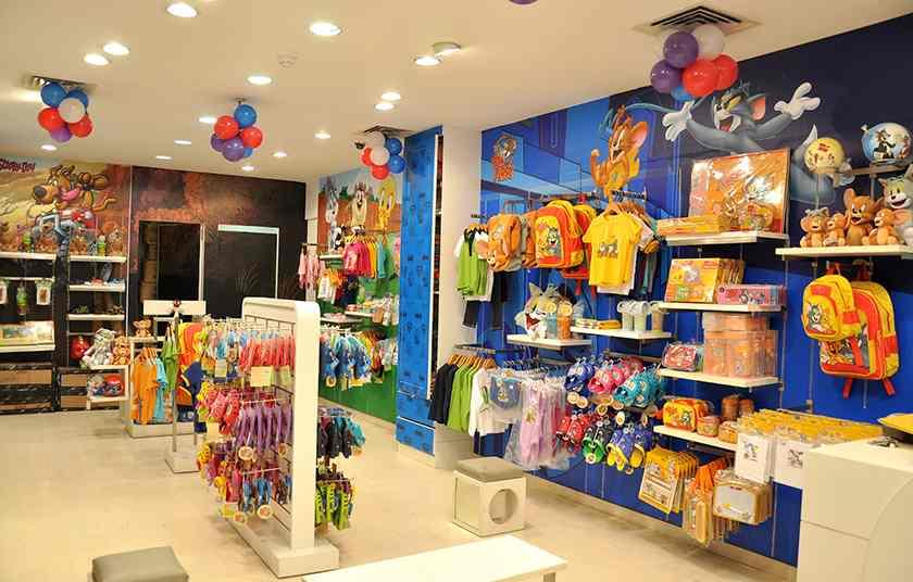 Screenshot of kids clothing store