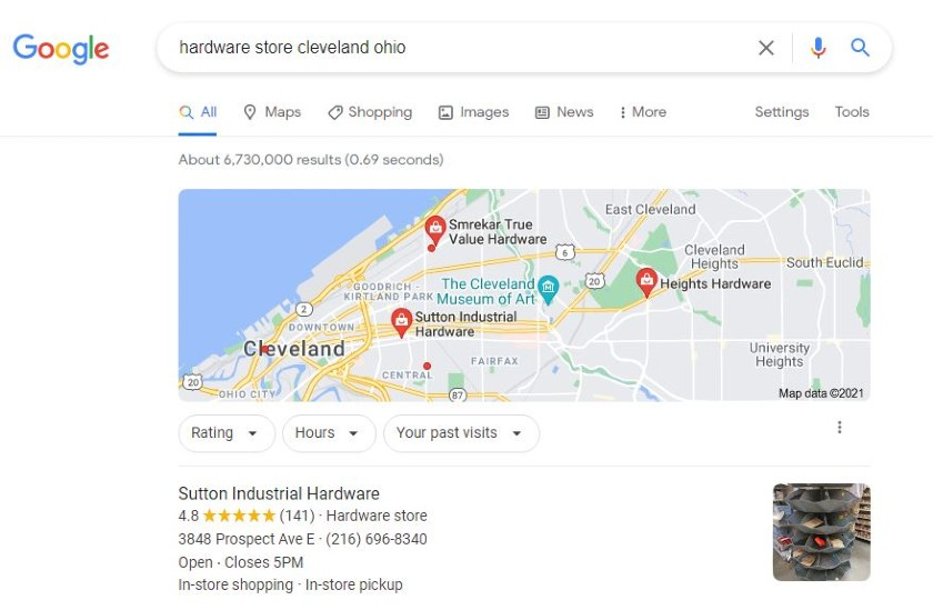 local citation on Google